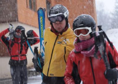 Piste Noire – Skier avec une déficience visuelle