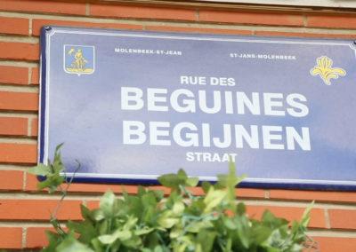 Nous sommes la rue des Beguines